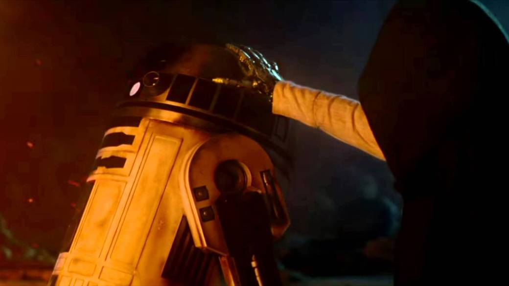 Luke and R2D2