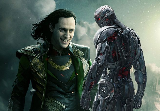 Loki and Ultron