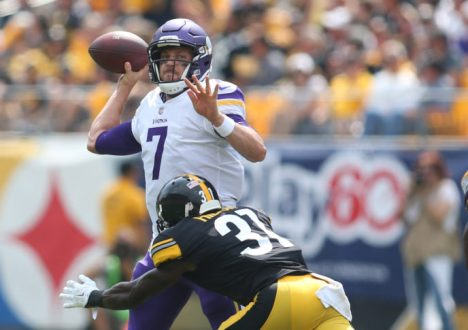 NFL: Minnesota Vikings at Pittsburgh Steelers